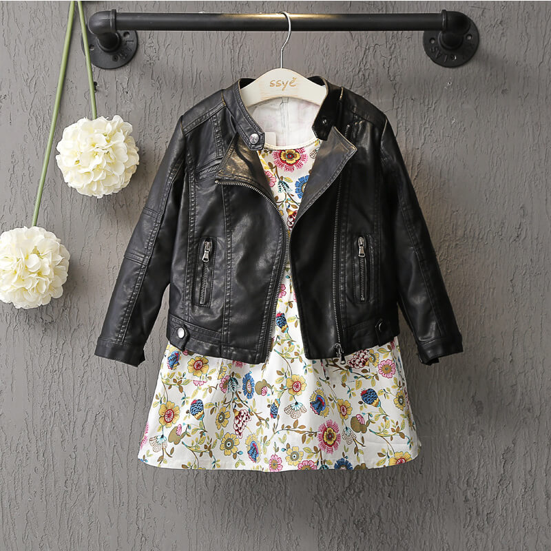 28f97c79a Punk Faux Kid Leather Jackets   Playground Runway